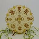Das Mandala mit den Acht Glückssymbolen