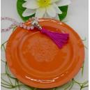 Keramikteller lachs