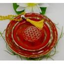 Keramikteller rot