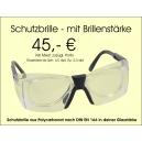 Schutzbrille mit Sehstärke